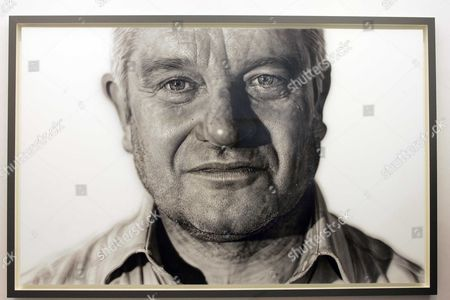 A Portrait Of Nobel Prize Winning Scientist Sir Paul Nurse By Artist Jason Brooks Is Unveiled At The National Portrait Gallery Today. Picture By Glenn Copus