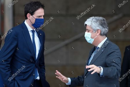 Editorial image of Informal Economic and Finance Ministers Meeting in Lisbon, Portugal - 21 May 2021