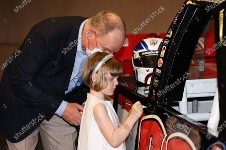 Editorial picture of Pirelli and Mark Dickens art project, Monaco Grand Prix, Monte Carlo, Monaco - 21 May 2021