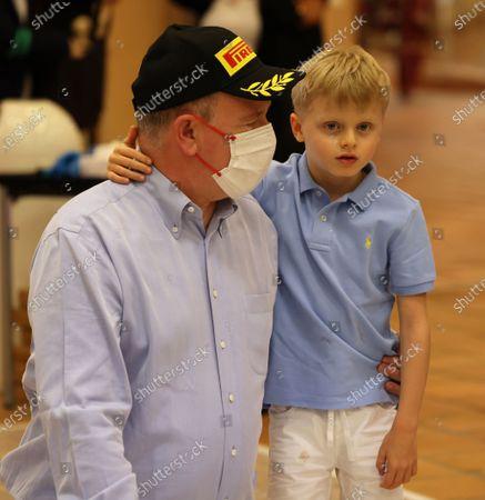 Prince Jacques of Monaco, Prince Albert II of Monaco