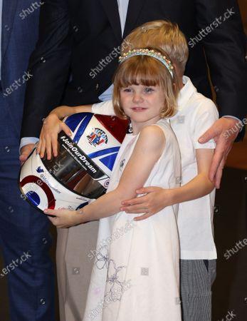 Prince Jacques of Monaco, Princess Gabriella of Monaco
