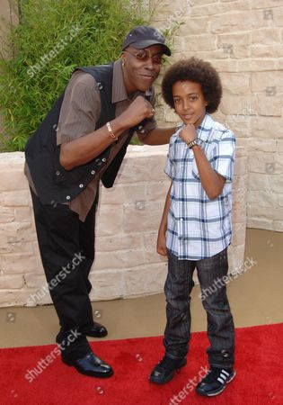 Arsenio Hall and son Arsenio Hall Jnr.