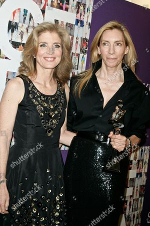 Stock Picture of Caroline Kennedy Schlossberg and Tonne Goodman, fashion director