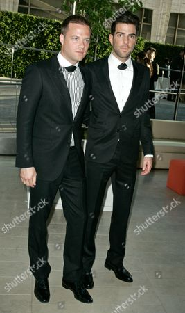 Simon Spurr and Zachary Quinto
