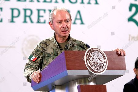 Editorial picture of President Andres Manuel Lopez Obrador news conference, Mexico City, Mexico - 21 May 2021