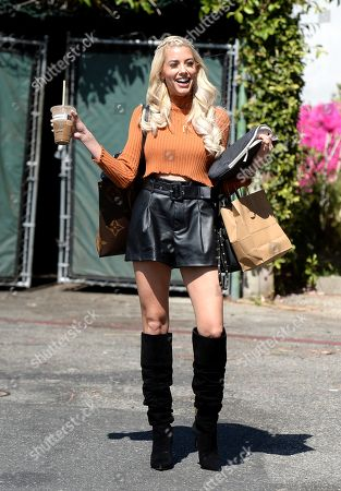 Editorial picture of Heather Rae Young out and about, Los Angeles, California, USA - 21 May 2021