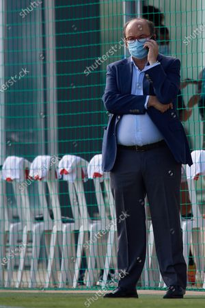 Jose Castro Carmona president of Sevilla prior the pre-season friendly match between Sevilla  CF and UD Levante at Pinatar Arena on September 15, 2020 in Murcia, Spain.