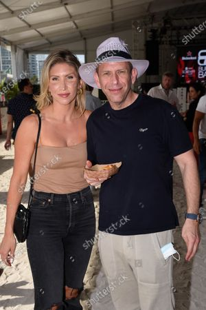 Michael LIebowitz - owner of The Mondrian Hotel South Beach and guest attend the South Beach Wine and Food Festival in Miami Beach, Florida, USA - 21 May 2021
