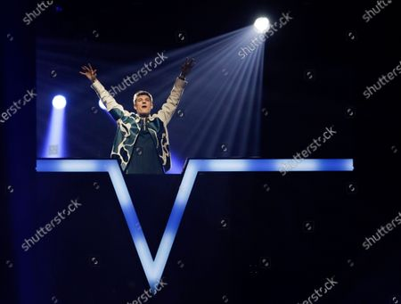 Editorial photo of Eurovision Song Contest Semifinal, Rotterdam, Netherlands - 21 May 2021