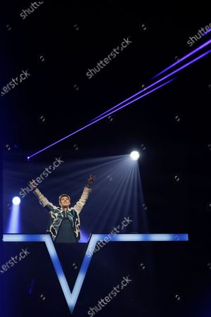 Editorial image of Eurovision Song Contest Semifinal, Rotterdam, Netherlands - 21 May 2021
