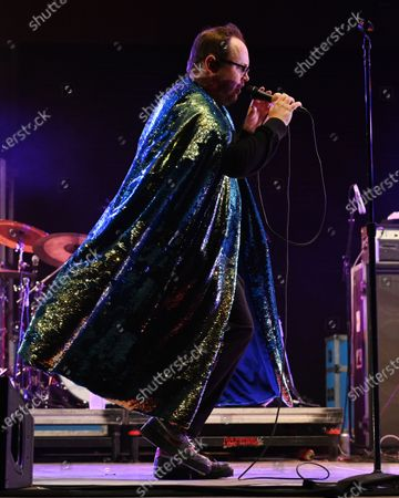 Stock Photo of Paul Janeway of St. Paul and The Broken Bones performs at the Old School Square Pavilion, Delray Beach, Florida, USA - 21 May 2021