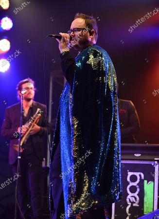 Paul Janeway of St. Paul and The Broken Bones performs at the Old School Square Pavilion, Delray Beach, Florida, USA - 21 May 2021