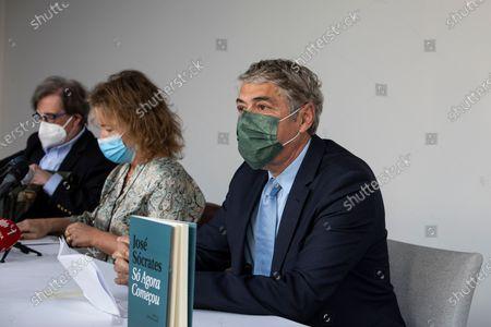 Stock Picture of Former Prime Minister Jose Socrates, accused of corruption, presents his book So Agora Comecou, at the Hotel Cristal Porto, on May 22, 2021, in Porto, Portugal.
