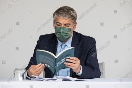 Editorial photo of Former Prime Minister Jose Socrates Presents His Book, Porto, Portugal - 22 May 2021