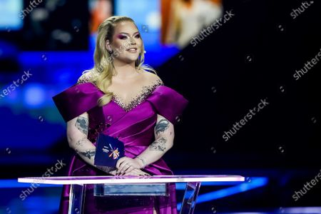 Editorial photo of Grand Final - 65th Eurovision Song Contest, Rotterdam, Netherlands - 22 May 2021