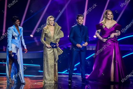 Editorial image of Grand Final - 65th Eurovision Song Contest, Rotterdam, Netherlands - 22 May 2021