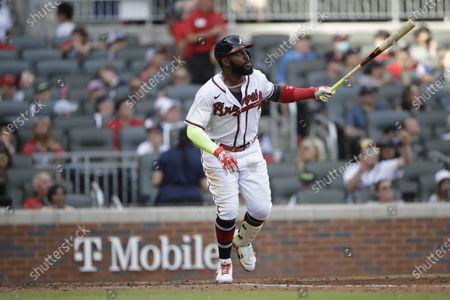 Editorial image of Pirates Braves Baseball, Atlanta, United States - 22 May 2021