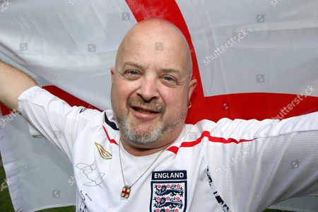 Editorial picture of Steve Wright, England's Biggest Football Fan, Watford, Britain