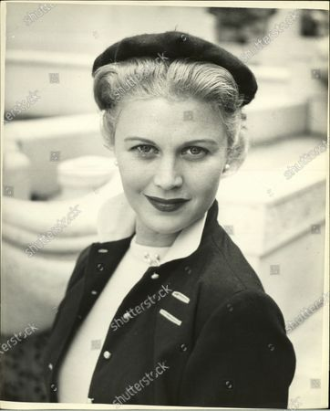Portrait of Beatrice Joan Caulfield in United States, 1954.