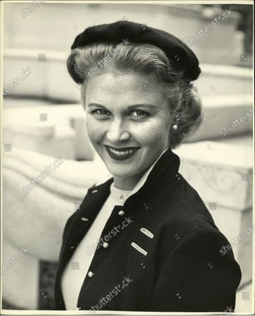Portrait of Joan Caulfield, United States, 1954.