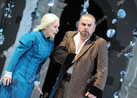'Pelleas et Melisande' - Alan Opie (Golaud) and Anne Sophie Duprels (Melisande)