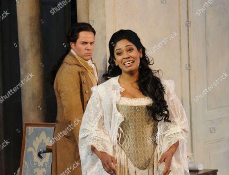 Editorial photo of 'Le Nozze di Figaro' performed at Garsington Opera, Britain - 30 May 2010