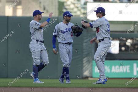 Editorial photo of Dodgers Giants Baseball, San Francisco, United States - 22 May 2021
