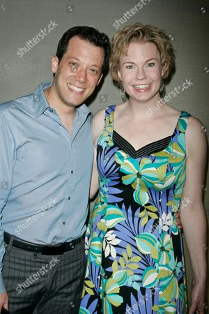 John Tartaglia and Jennifer Barnhart