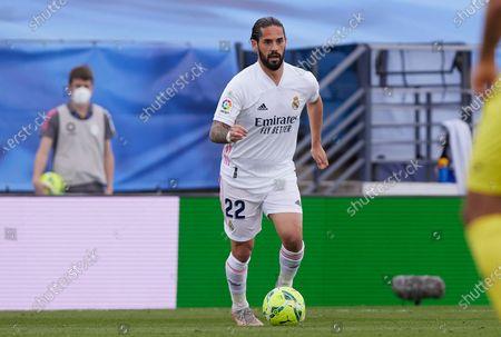 Isco Alarcon (Real Madrid CF) in action during La Liga match round 38 between Real Madrid and Villarreal CF at Alfredo Di Stefano Stadium. (Final score; Villarreal CF 2-1 Real Madrid)