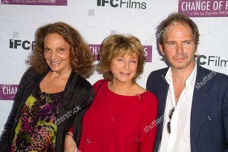 Diane von Furstenberg, Writer  Director Daniele Thompson and Writer / Actor Christopher Thompson