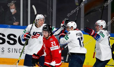Editorial picture of IIHF Ice Hockey World Championship 2021, Riga, Latvia - 23 May 2021