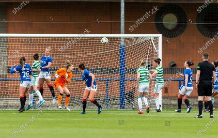 Celtic Women's Midfielder Kelly Clark scores her sides first goal