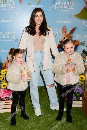 Imogen Thomas, Ariana Siena Horsley and Siera Aleira Horsley