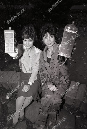 Stock Picture of Doctor Who - Janet Fielding and Carole Ann Ford