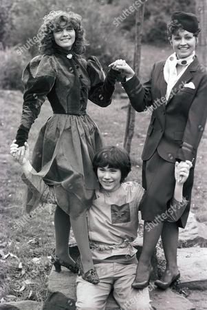 Doctor Who - Sarah Sutton, Janet Fielding and Matthew Waterhouse