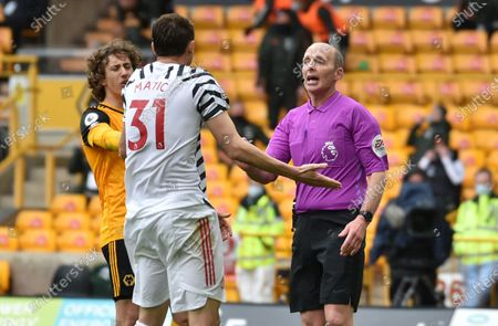 Editorial photo of Wolverhampton Wanderers vs Manchester United, United Kingdom - 23 May 2021