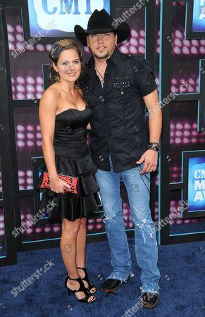 Jessica Aldean and Jason Aldean