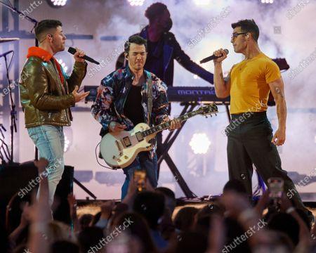 Jonas Brothers -  Nick Jonas, Kevin Jonas and Joe Jonas