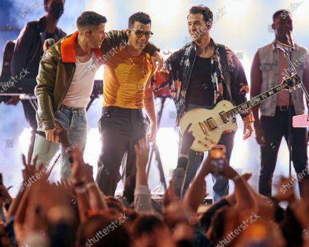 Jonas Brothers - Nick Jonas, Joe Jonas and Kevin Jonas