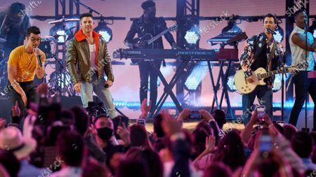 Jonas Brothers - Joe Jonas, Nick Jonas and Kevin Jonas