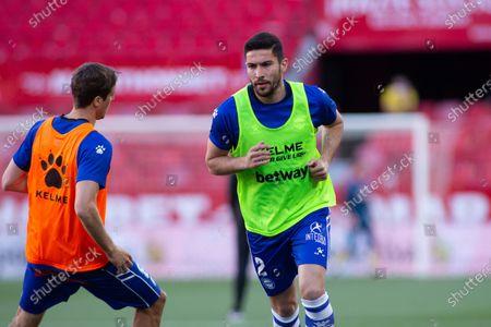 "Alberto Rodriguez ""Tachi"" of Alaves during LaLiga, football match played between Sevilla Futbol Club and Deportivo Alaves  at Ramon Sanchez Pizjuan Stadium on May 23, 2021 in Sevilla, Spain."