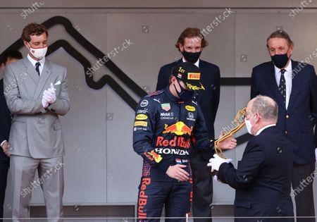 Pierre Casiraghi, Andrea Casiraghi, Max Verstappen, Prince Albert II of Monaco