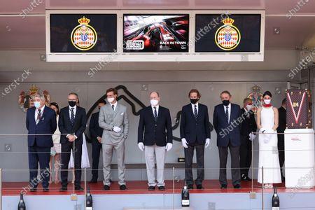 Editorial photo of F1 Monaco Grand Prix, Race, Circuit de Monaco, Monte Carlo, Monaco - 23 May 2021