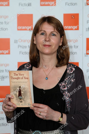 Rosie Alison with her book 'The Very Thought of You'
