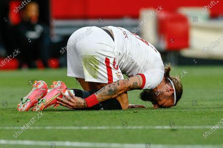 Stock Picture of Nemanja Gudelj of Sevilla FC
