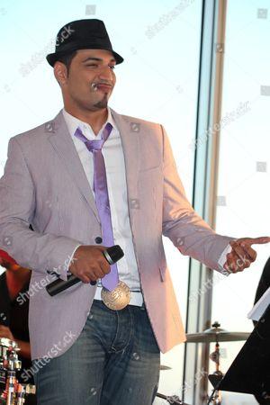 Editorial image of Mehrzad Marashi, singer and winner of 'Deutschland sucht den Superstar', Vienna, Austria - 09 Jun 2010
