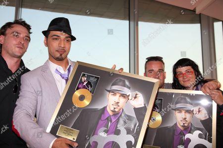 Editorial photo of Mehrzad Marashi, singer and winner of 'Deutschland sucht den Superstar', Vienna, Austria - 09 Jun 2010