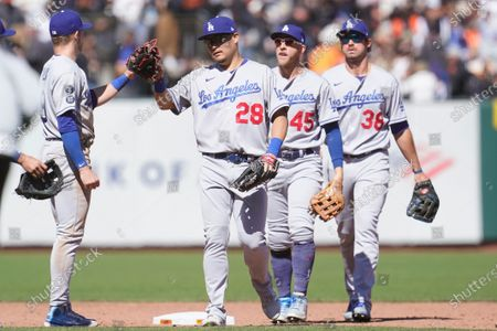 Editorial picture of Dodgers Giants Baseball, San Francisco, United States - 23 May 2021