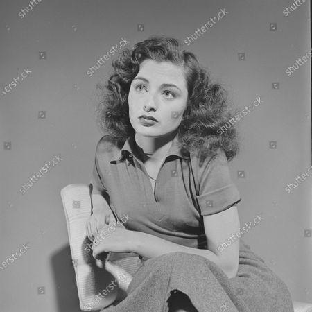 Stock Picture of Portrait of Marina Berti, United States, 1951.