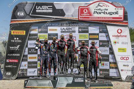 Editorial photo of Rally de Portugal, 4th round of the FIA WRC, FIA World Rally Championship, Matosinhos, Portugal - 23 May 2021